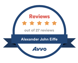 Alexander J. Eiffe Avvo Reviews